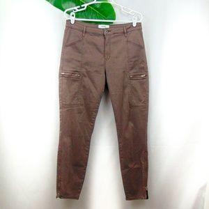 Pistola Topanga cargo zipper pants